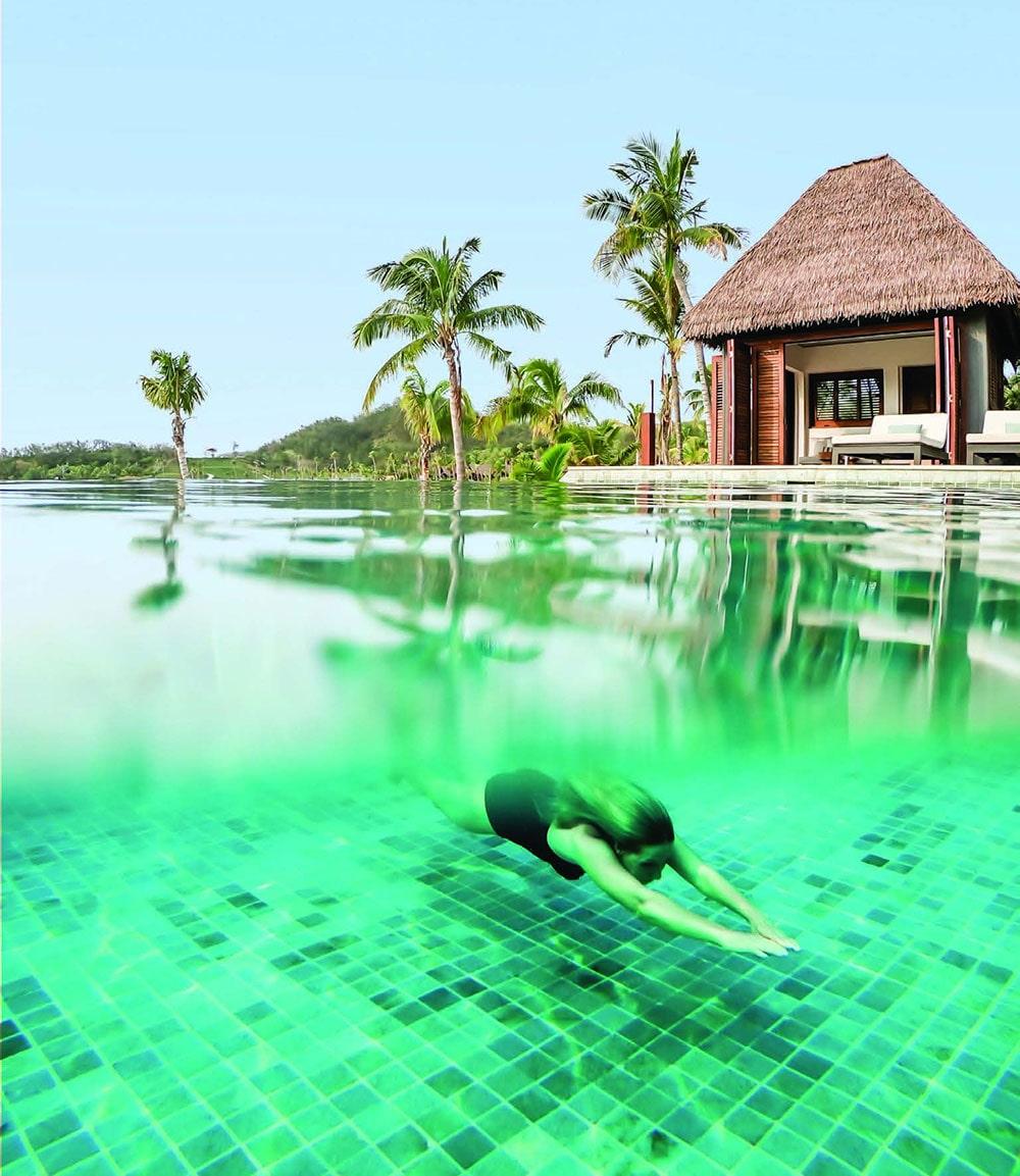 Residence Pool and Beach House, Six Senses Fiji