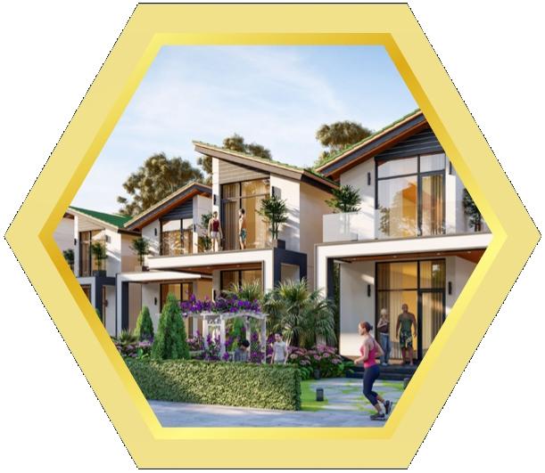 Bất động sản Lâm Đồng - Chuỗi Dự án Đà Lạt Pearl -SUNFLOWER Villa