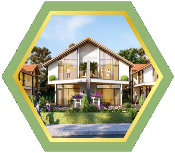 Bất động sản Lâm Đồng - Chuỗi Dự án Đà Lạt Pearl - GREEN ROSE Villa