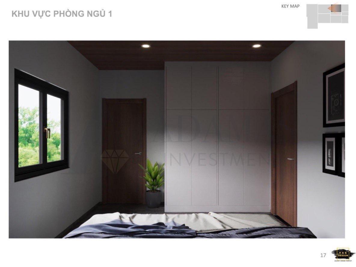 Bất động sản Lâm Đồng - Chuỗi Dự án Green Life 1 - Phòng ngủ 1