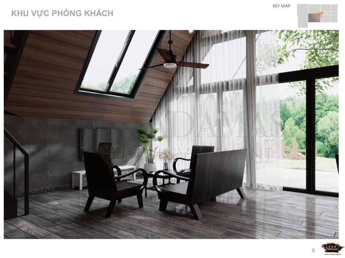 Bất động sản Lâm Đồng - Chuỗi Dự án Green Life 1 - Phòng Khách