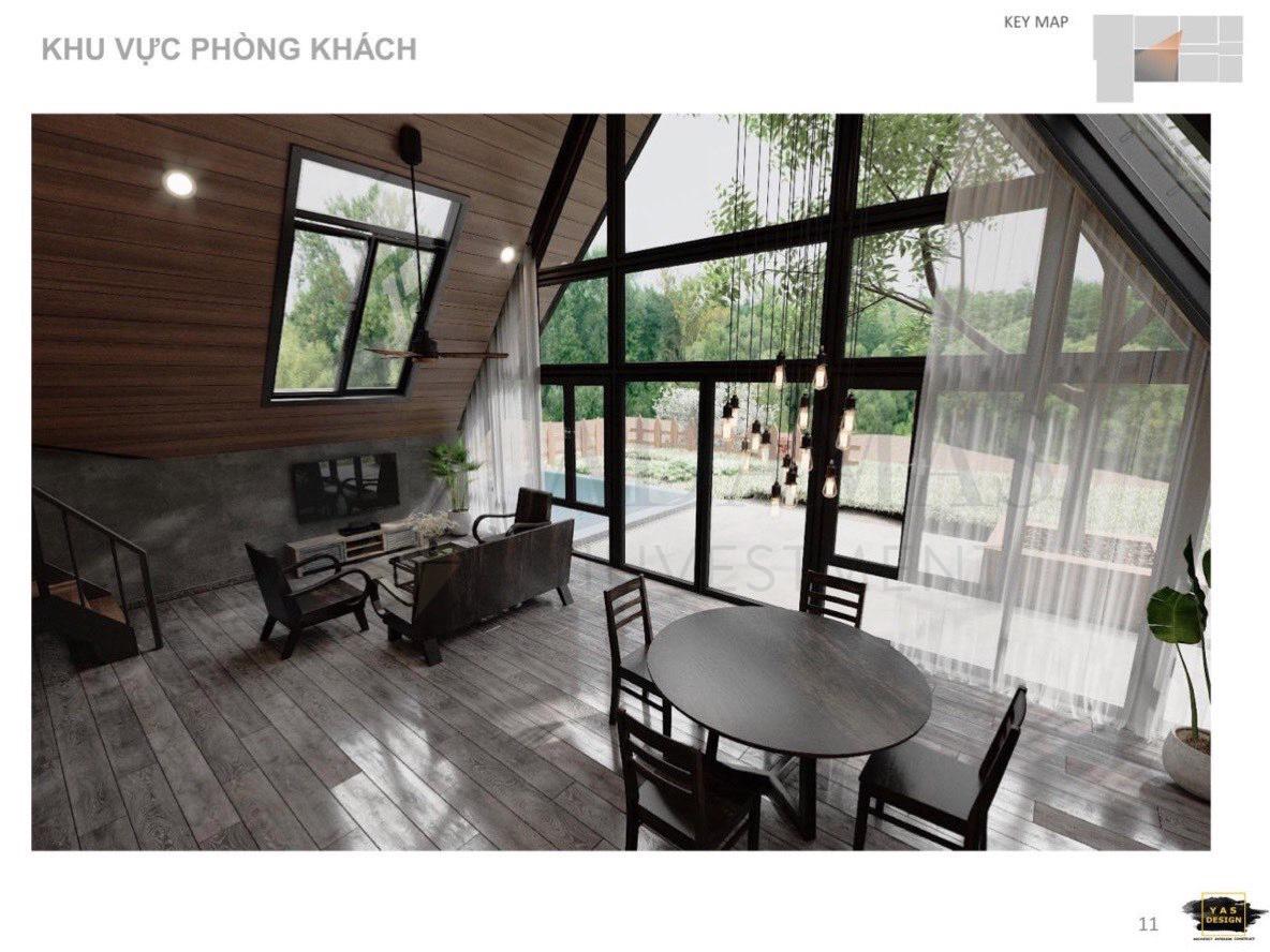 Bất động sản Lâm Đồng - Chuỗi Dự án Green Life 1 - Phòng Khách 1