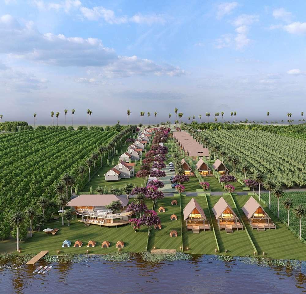 Bất động sản Lâm Đồng - Dự án Phúc Thọ Village - Hạ tầng bàn giao