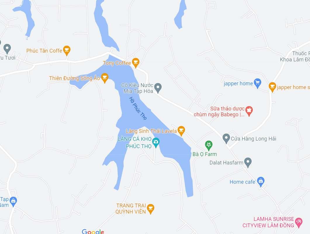 Bất động sản Lâm Đồng - Dự án Phúc Thọ Village - Vị trí